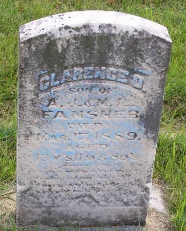 FANSHER, CLARENCE O. - Mahaska County, Iowa | CLARENCE O. FANSHER