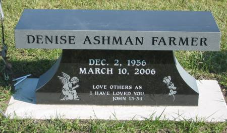 ASHMAN FARMER, DENISE - Mahaska County, Iowa | DENISE ASHMAN FARMER