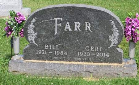 FARR, GERI - Mahaska County, Iowa   GERI FARR