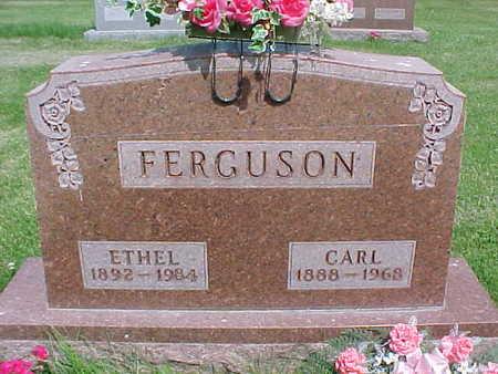FERGUSON, ETHEL - Mahaska County, Iowa | ETHEL FERGUSON