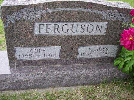 FERGUSON, GLADYS - Mahaska County, Iowa | GLADYS FERGUSON