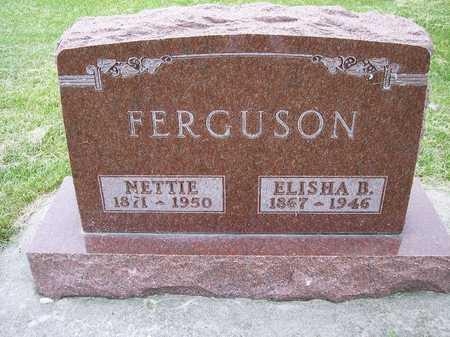 FERGUSON, NETTIE - Mahaska County, Iowa | NETTIE FERGUSON