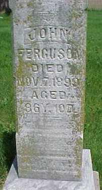 FERGUSON, JOHN - Mahaska County, Iowa | JOHN FERGUSON