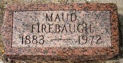 FIREBAUGH, MAUD - Mahaska County, Iowa   MAUD FIREBAUGH