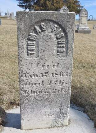 FISHER, THOMAS - Mahaska County, Iowa | THOMAS FISHER