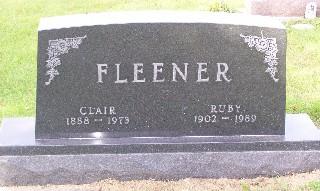 FLEENER, CLAIR - Mahaska County, Iowa | CLAIR FLEENER