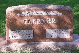 FLEENER, BESSIE - Mahaska County, Iowa | BESSIE FLEENER