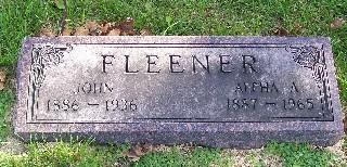 JOHNSON FLEENER, ALPHA A. - Mahaska County, Iowa | ALPHA A. JOHNSON FLEENER