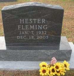 FLEMING, HESTER - Mahaska County, Iowa | HESTER FLEMING