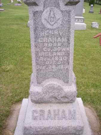 GRAHAM, HENRY - Mahaska County, Iowa | HENRY GRAHAM