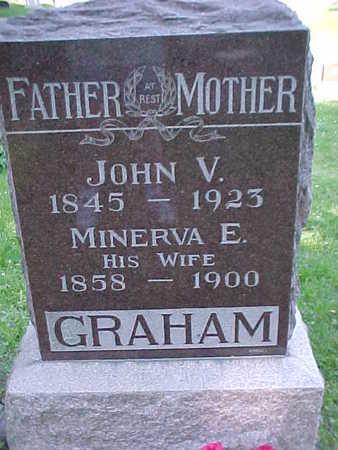 GRAHAM, JOHN V. - Mahaska County, Iowa | JOHN V. GRAHAM