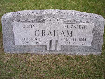 GRAHAM, ELIZABETH - Mahaska County, Iowa | ELIZABETH GRAHAM