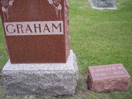 GRAHAM, LAFAYETTE W. - Mahaska County, Iowa | LAFAYETTE W. GRAHAM