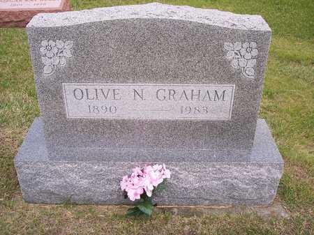GRAHAM, OLIVE N. - Mahaska County, Iowa | OLIVE N. GRAHAM