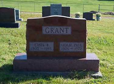 GRANT, LESLIE PAUL - Mahaska County, Iowa | LESLIE PAUL GRANT