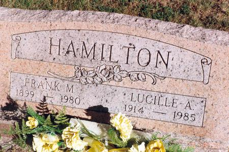 HAMILTON, LUCILLE - Mahaska County, Iowa | LUCILLE HAMILTON