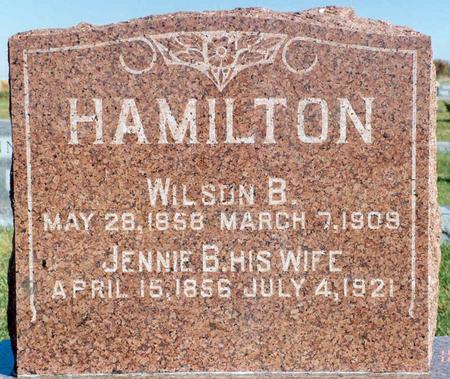 HAMILTON, WILSON B. - Mahaska County, Iowa | WILSON B. HAMILTON