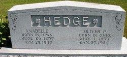 HEDGE, ANABELLE - Mahaska County, Iowa | ANABELLE HEDGE