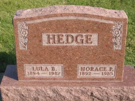 HEDGE, LULA B. - Mahaska County, Iowa | LULA B. HEDGE