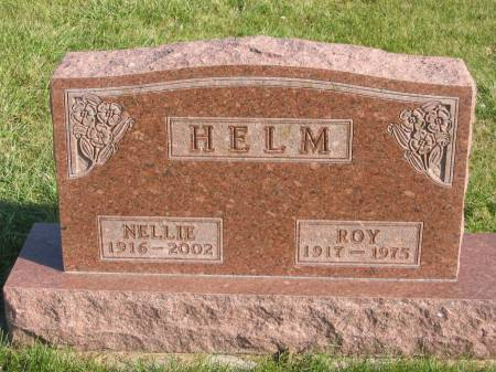 HELM, NELLIE - Mahaska County, Iowa | NELLIE HELM