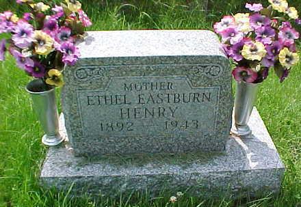 EASTBURN HENRY, ETHEL - Mahaska County, Iowa | ETHEL EASTBURN HENRY