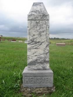 HENSYEL, LOU ETTA - Mahaska County, Iowa   LOU ETTA HENSYEL
