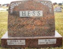 HESS, NORA B. - Mahaska County, Iowa | NORA B. HESS