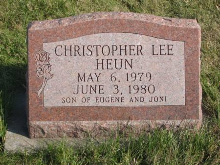 HEUN, CHRISTOPHER LEE - Mahaska County, Iowa | CHRISTOPHER LEE HEUN