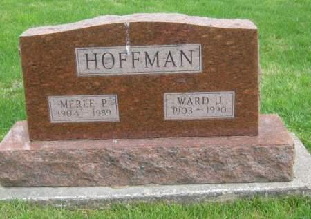 HOFFMAN, MERLE - Mahaska County, Iowa | MERLE HOFFMAN