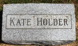 HOLDER, KATE - Mahaska County, Iowa | KATE HOLDER