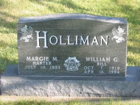 HOLLIMAN, WILLIAM G. - Mahaska County, Iowa | WILLIAM G. HOLLIMAN