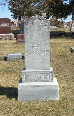 HOLLINGSWORTH, FRANK L. - Mahaska County, Iowa | FRANK L. HOLLINGSWORTH
