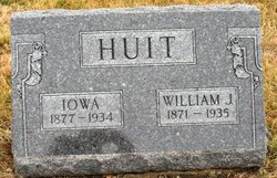 HUIT, WILLIAM J. - Mahaska County, Iowa | WILLIAM J. HUIT