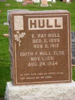 HULL ELSE, EDITH F. - Mahaska County, Iowa | EDITH F. HULL ELSE