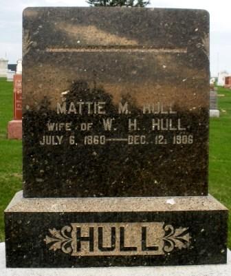 HULL, MATTIE M. - Mahaska County, Iowa | MATTIE M. HULL