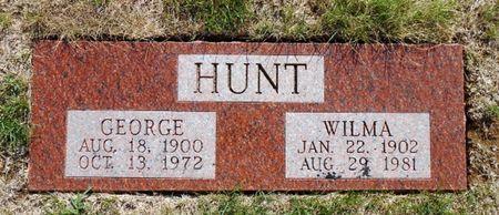 HUNT, GEORGE HARLAN - Mahaska County, Iowa | GEORGE HARLAN HUNT