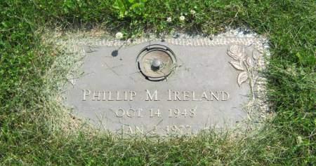 IRELAND, PHILLIP M - Mahaska County, Iowa | PHILLIP M IRELAND