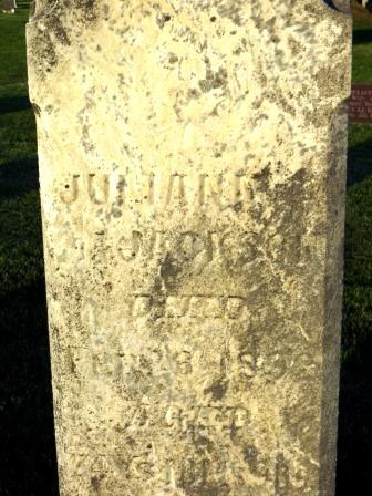 JACKSON, JULIANA - Mahaska County, Iowa | JULIANA JACKSON