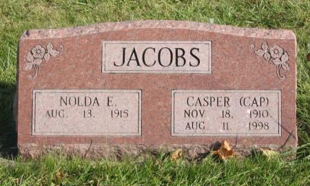 JACOBS, CASPER - Mahaska County, Iowa   CASPER JACOBS