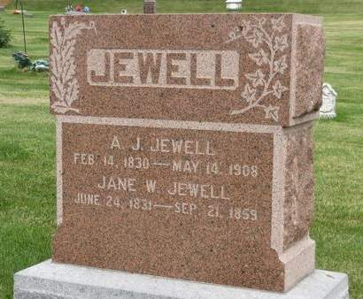 JEWELL, A.J. - Mahaska County, Iowa | A.J. JEWELL