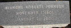 ROBERTS JOHNSON, BLANCHE - Mahaska County, Iowa | BLANCHE ROBERTS JOHNSON