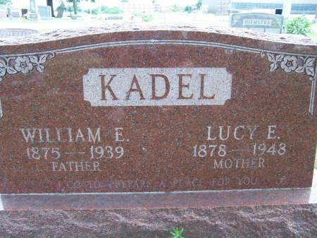 KADEL, WILLIAM E. - Mahaska County, Iowa | WILLIAM E. KADEL