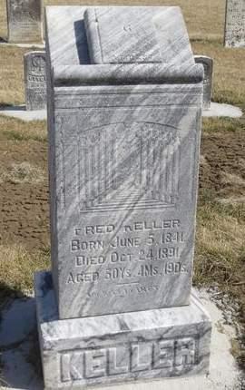 KELLER, FRED - Mahaska County, Iowa | FRED KELLER