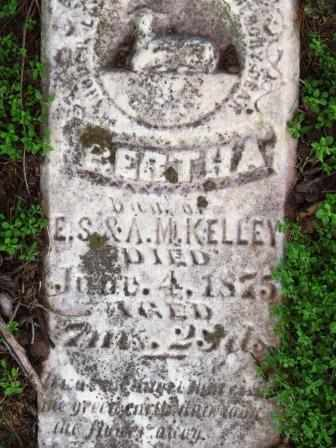 KELLEY, BERTHA - Mahaska County, Iowa | BERTHA KELLEY