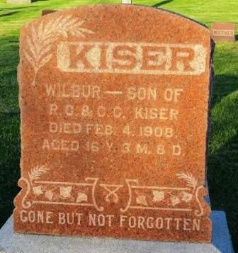 KISER, WILBUR - Mahaska County, Iowa | WILBUR KISER