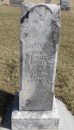 KOONTZ, MARTHA Z. - Mahaska County, Iowa | MARTHA Z. KOONTZ