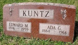 KUNTZ, ADA G. - Mahaska County, Iowa | ADA G. KUNTZ