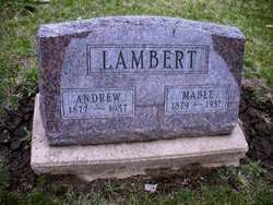 LAMBERT, ANDREW - Mahaska County, Iowa   ANDREW LAMBERT