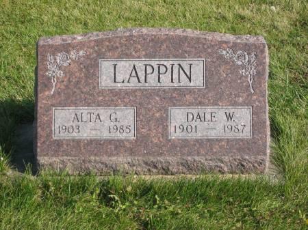 LAPPIN, ALTA G. - Mahaska County, Iowa | ALTA G. LAPPIN