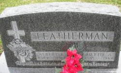 LEATHERMAN, HETTIE A. - Mahaska County, Iowa | HETTIE A. LEATHERMAN